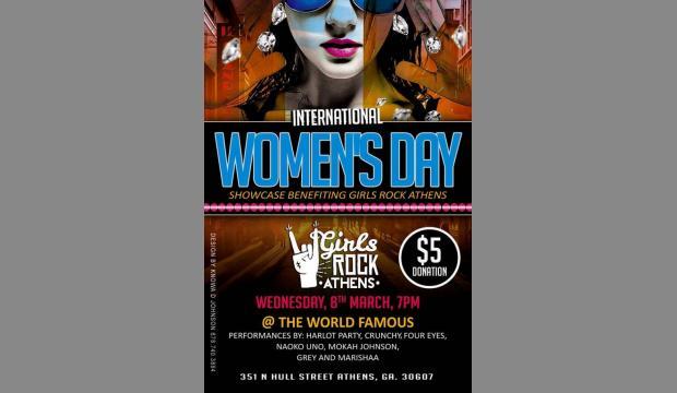 Athens Banner Herald -Girls Rock to celebrate International Women's Day