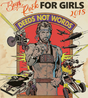 WALK TOGETHER, ROCK TOGETHER : The annual  Boys Who Rock For Girls , a benefit for  Girls Rock Athens , will happen Feb. 9–11. By Gordon Lamb
