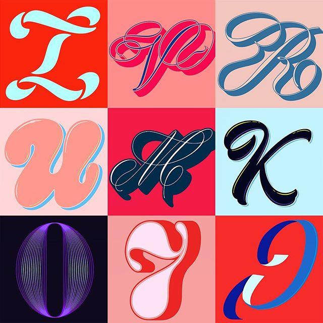 Another year of #36daysoftype is officially over! Big thank you for everyone following along as well as the @36daysoftype team. Here's the good old top 9 with the promise of more lettering to come soon! #36daysoftype04