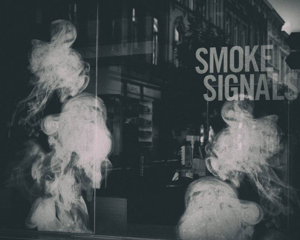 SMOKE SIGNALS by PHILIP SWEECK