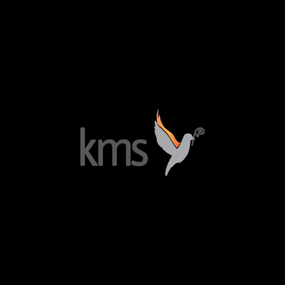 Light logo for Kingdom Ministry School - www.kms.org.nz