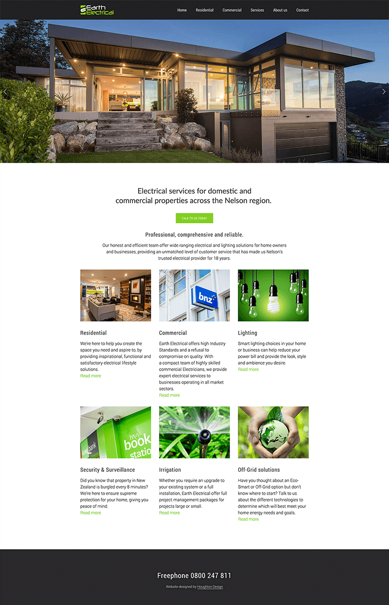 Earth Electrical - Home page