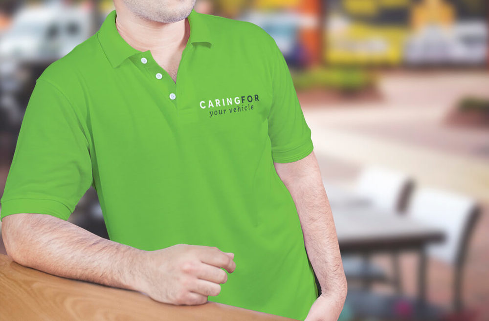 Caring For Your Vehicle - Polo shirt