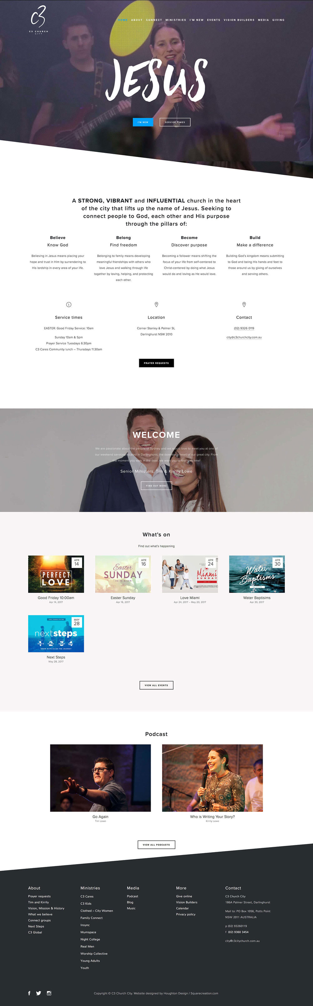 C3 Church City – Home page