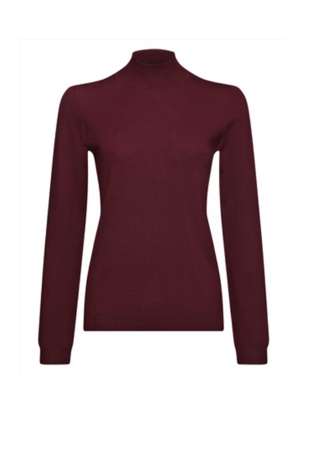 Turtle neck sweater, $75.00