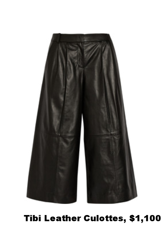 tici leather culottes