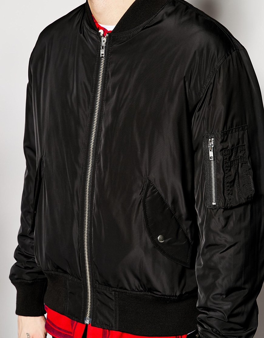 Men's bomber jacket, $80.62