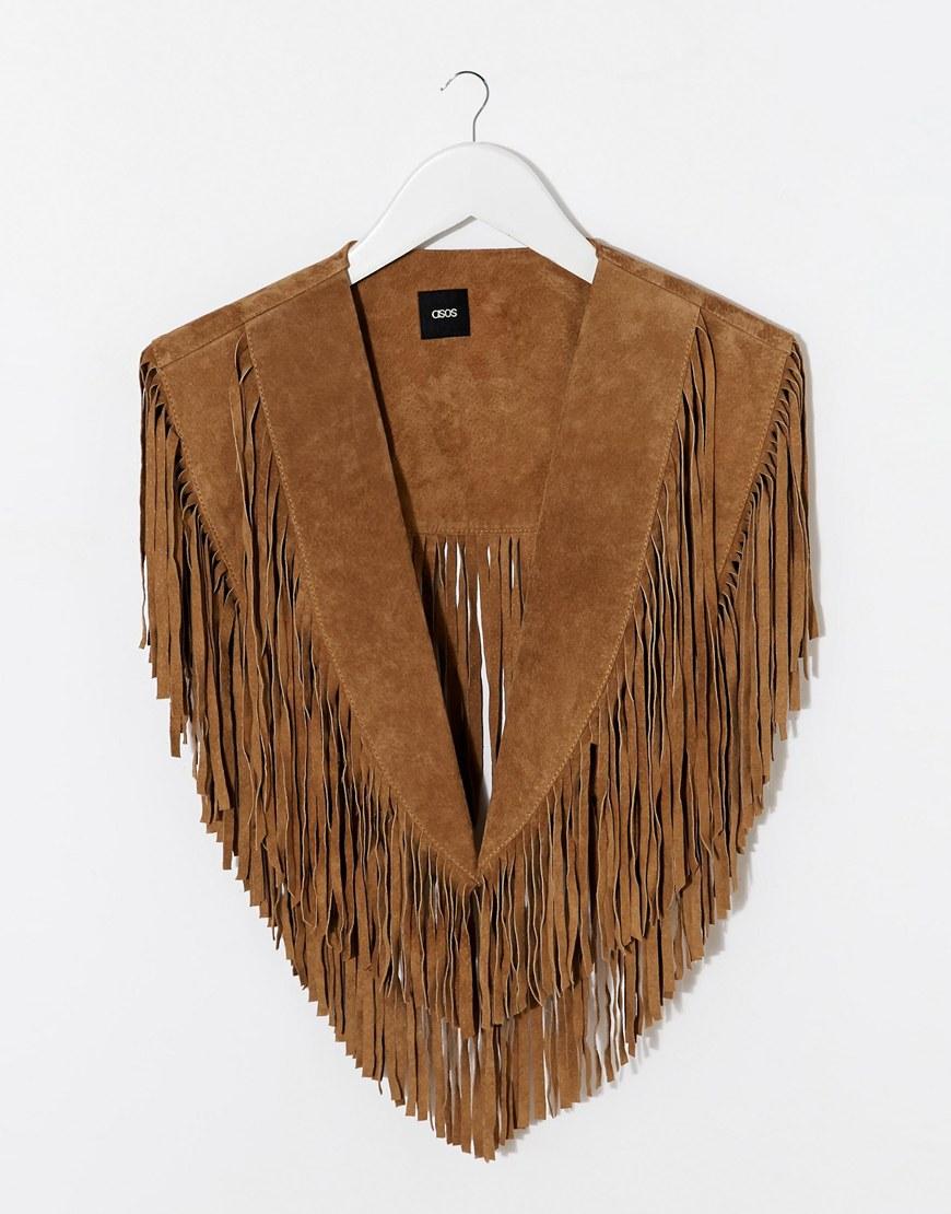 Asos Fringe collar, $90