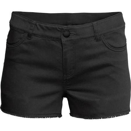 H&M black shorts, $19.95