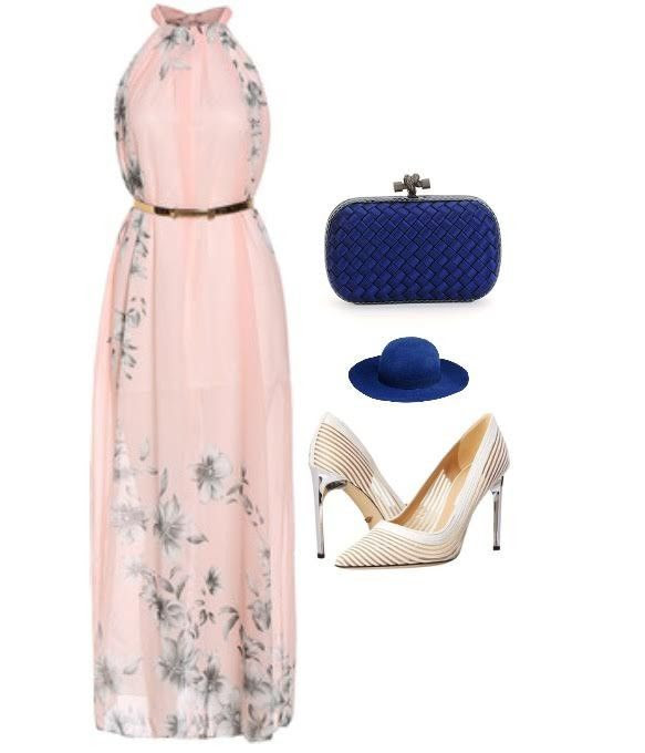 6. This look is divine! This look consist of a long soft color belted maxi dress, a blue hat and a blue quilted clutch bag. This look is perfect whether your going to a fancy brunch or the country derby. Its a fantastic way to add color, allure and texture to your look. Now these looks are all different and can be easily re-created from things right out of your closet! Ofcourse these are looks that were all made to wear with these super hot killer heels from DVF!
