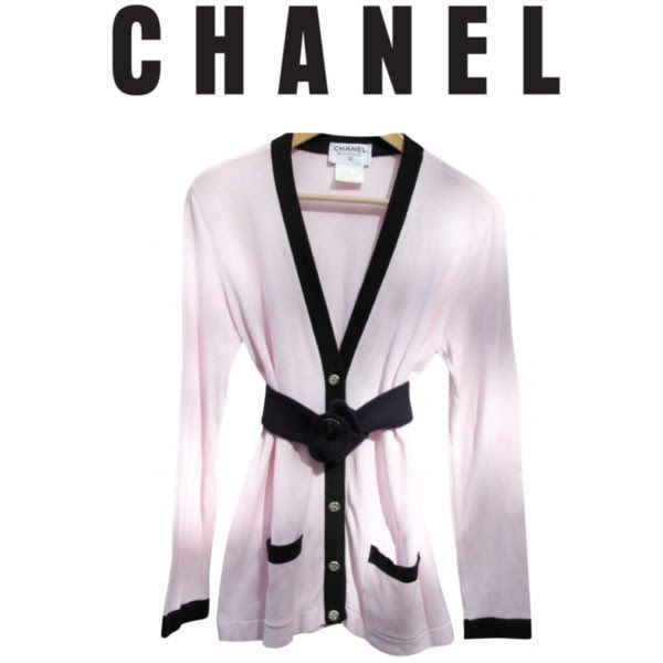 Life's too short for boring clothes so this weekend set the standard in our vintage Chanel Cardigan! Pair with high waisted skinny jeans,booties and a fabulous hat.