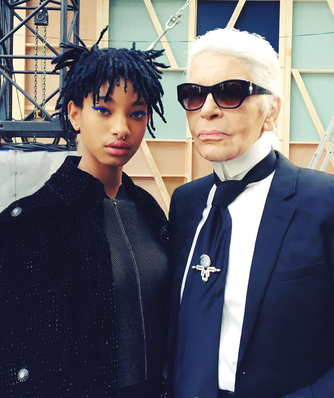 Karl Lagerfeld has chosen the young American singer and actress as the new Chanel face.