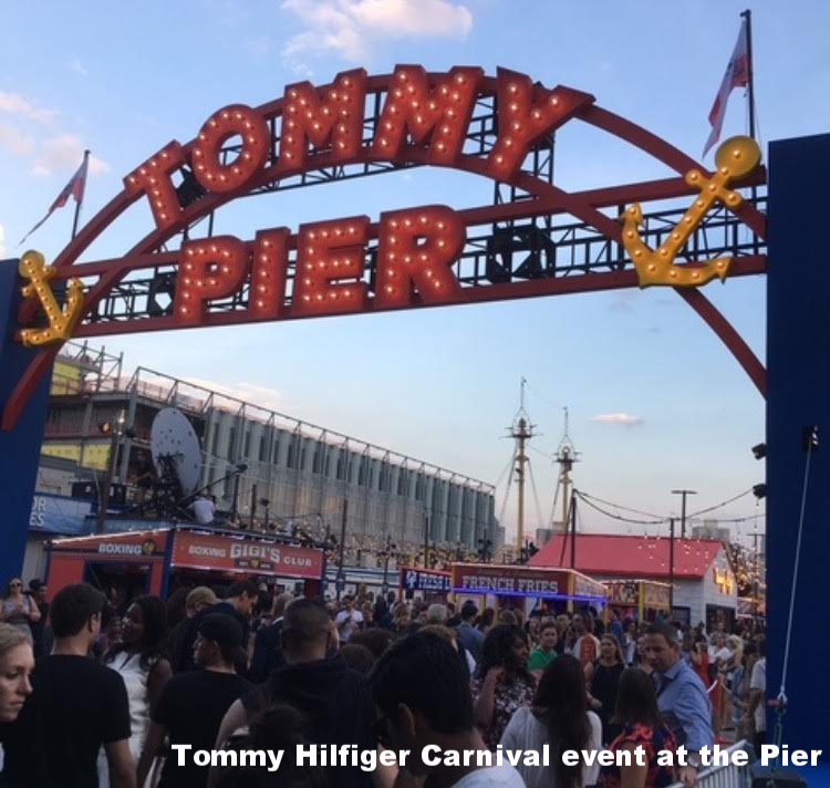 Tommy Hilfiger Carnival at the Pier