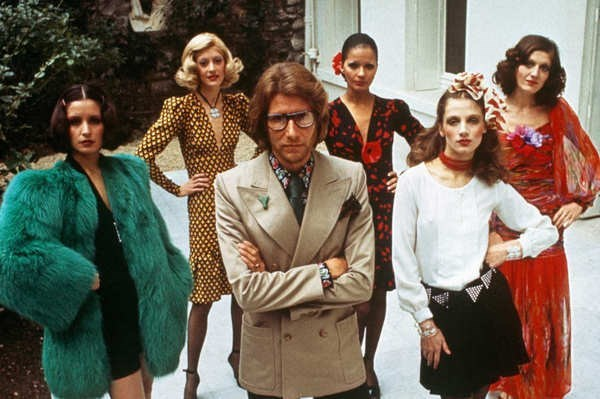 """I have always believed that fashion was not only to make women more beautiful, but also to reassure them, give them confidence."" — Yves Saint Laurent"