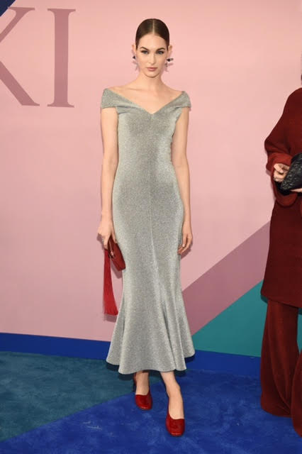 Laura Love wearing Rosetta Getty.