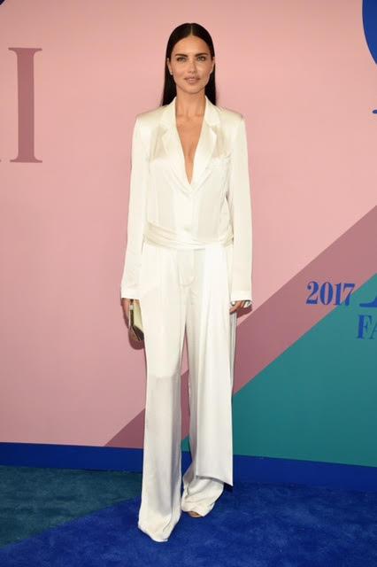 Adriana Lima wearing Urban Zen.