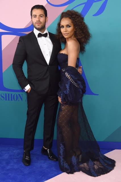 Jonathan Simkhai and Janet Mock wearing Jonathan Simkhai.