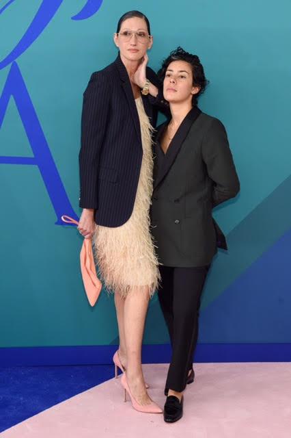 Jenna Lyons and Roberta Colindrez.