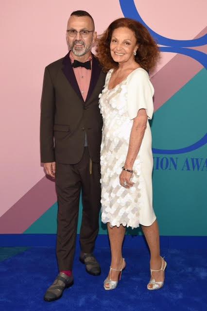 Steven Kolb and Diane Von Furstenberg.