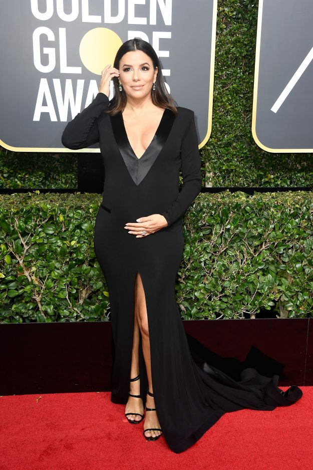 Eva Longoria wearing Genny.