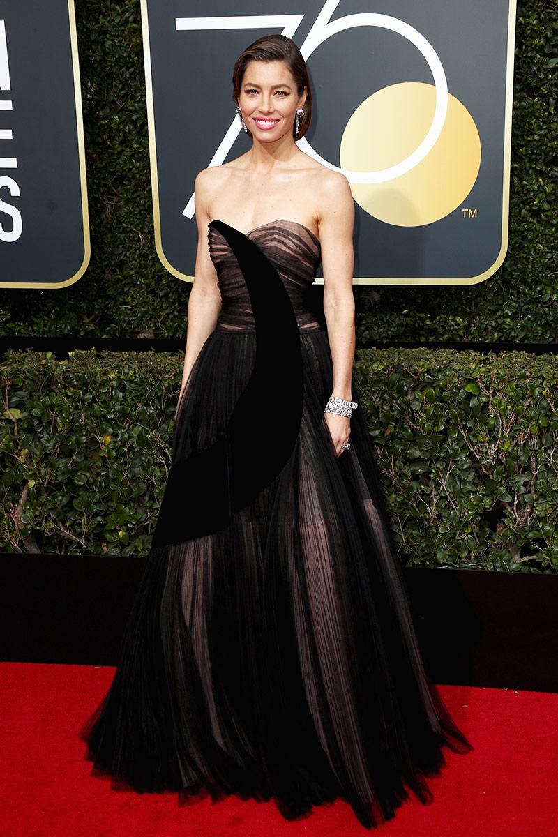 Jessica Biel wearing Dior <3