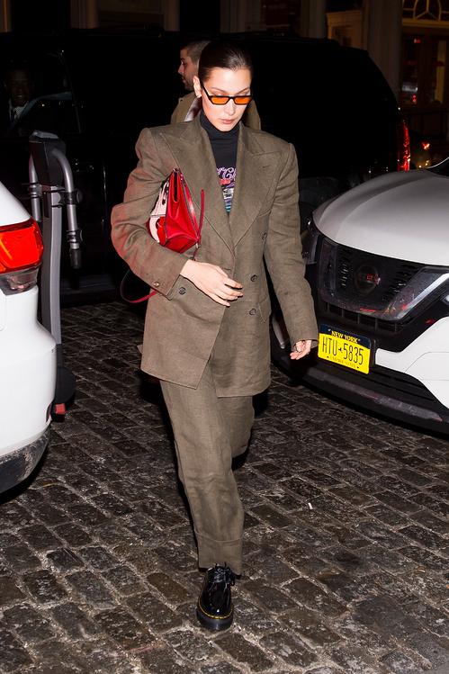 Bella Hadid wearing Vivienne Westwood