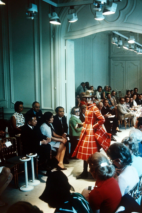 The Givenchy salons, August 1970, Paris