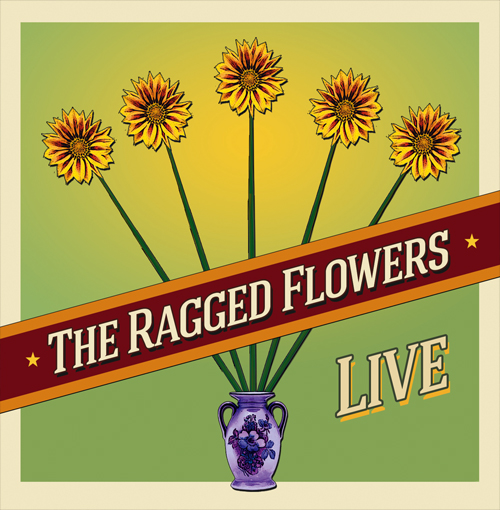 On Dec. 6th, 2014, The Ragged Flowers released a CD of past live festival and stage recordings, recorded by Chris Rudyk and Ken Friesen.