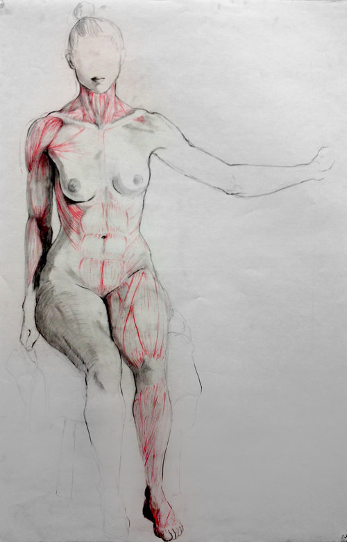 STUDENT WORK: Life Drawing — Nick Reszetar