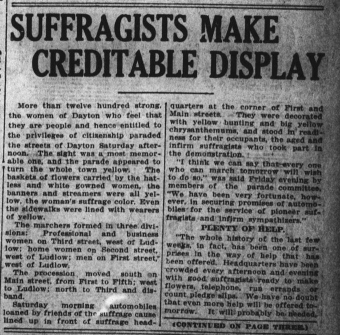 Dayton Daily News October 24, 1914