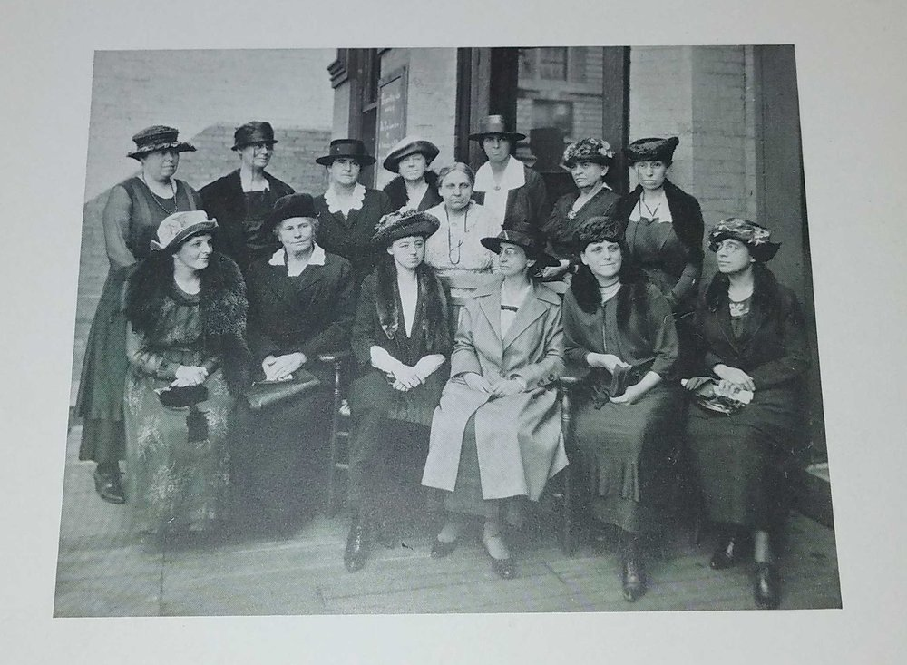 Young Women's League Board of Directors, 1922; Dayton, Ohio (Courtesy of YWL Collection, Special Collections and Archives, Wright State University)