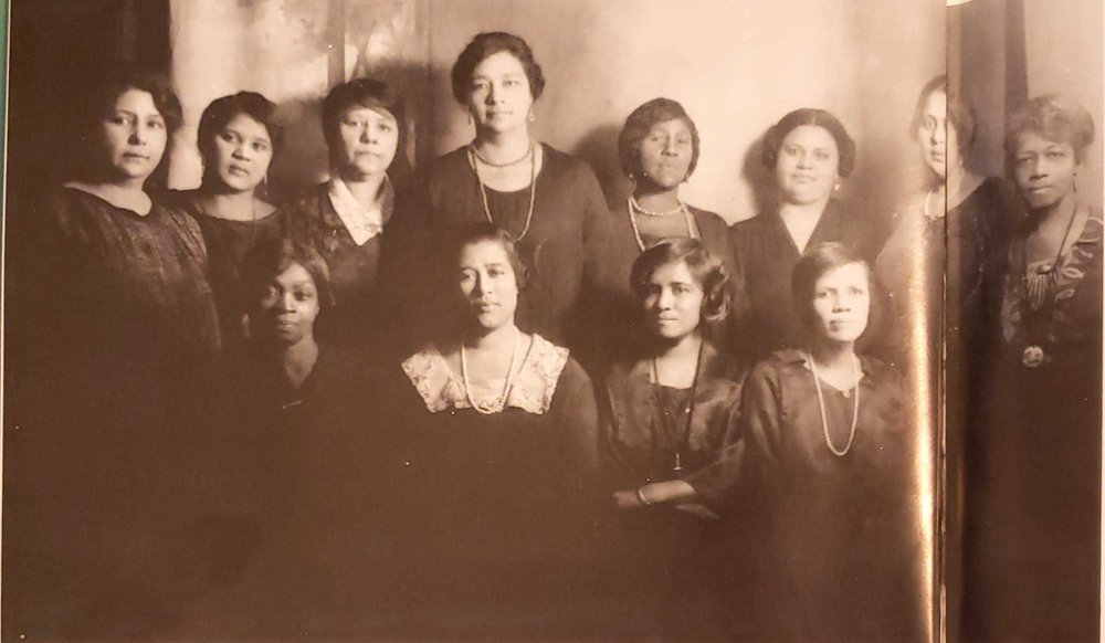 West Side Day Nursery Board of Directors, 1920; Dayton, Ohio (courtesy of Margaret Peters, Dayton's African American Heritage)