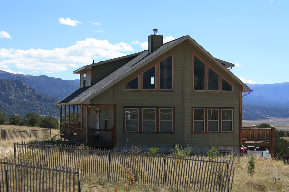 A house: Way more than meets the eye. (this is a similar house design to what we're building. This one is in Buena Vista)