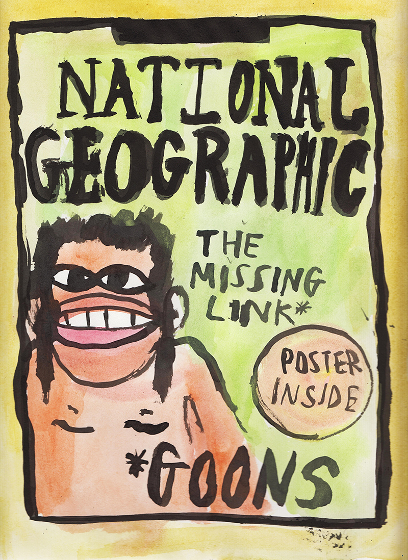 goons illustrated magazine covers