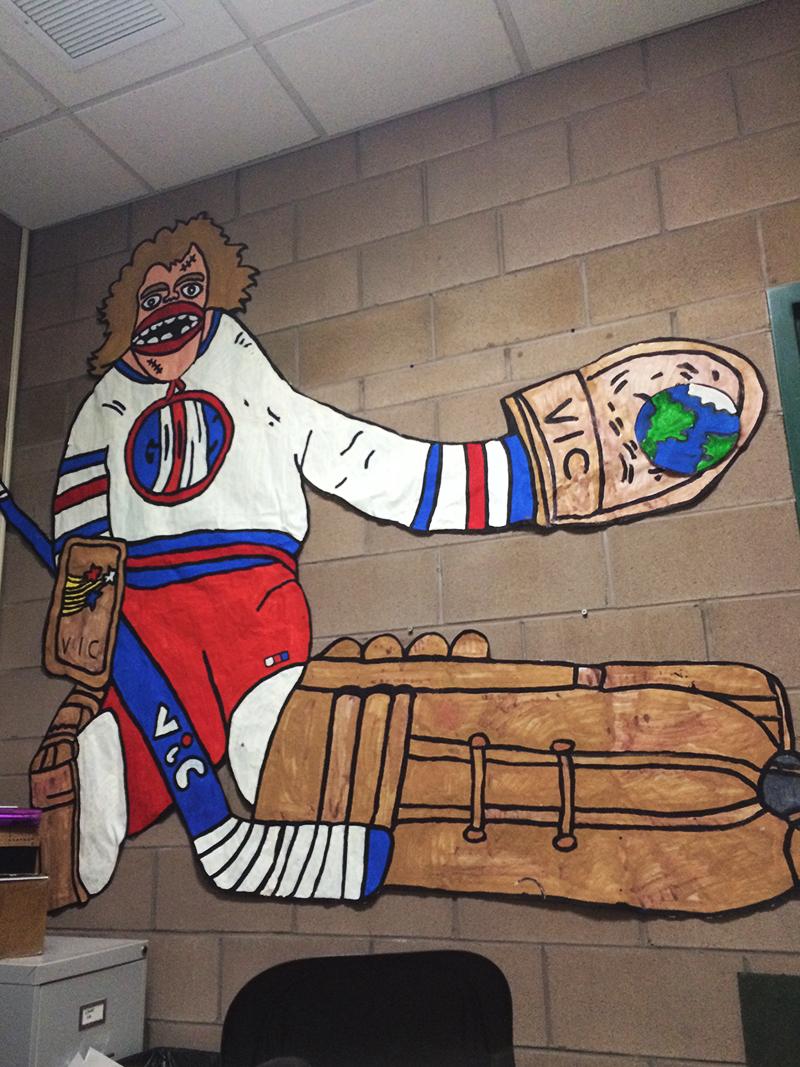 goons hockey goalie