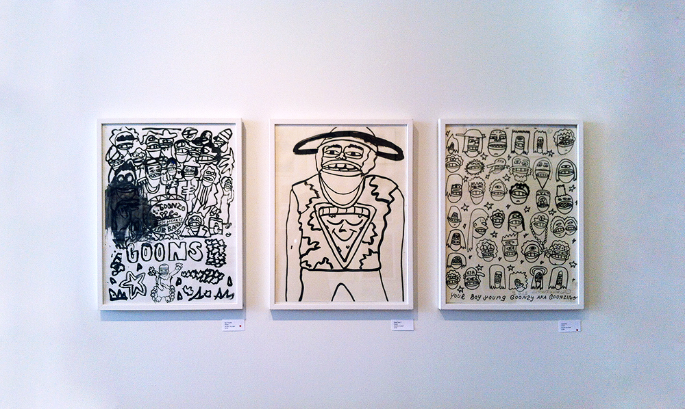April 2013 Show at Galerie F: Goons World