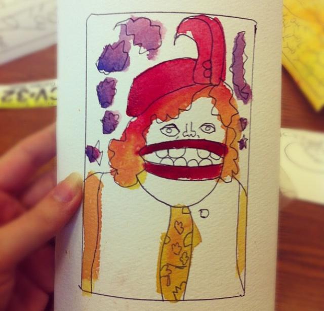Watercolorin'