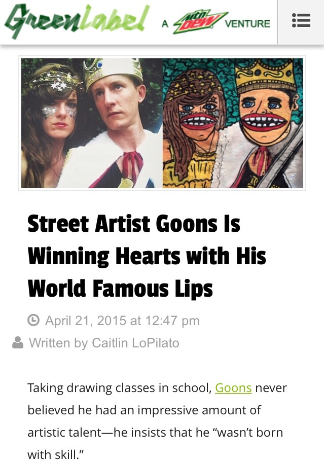 Read more here: http://greenlabel.com/art/goons-street-art/