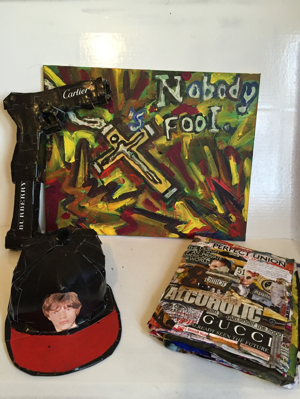 Items shown with 'Nobody 's Fool', 2015. GOONS
