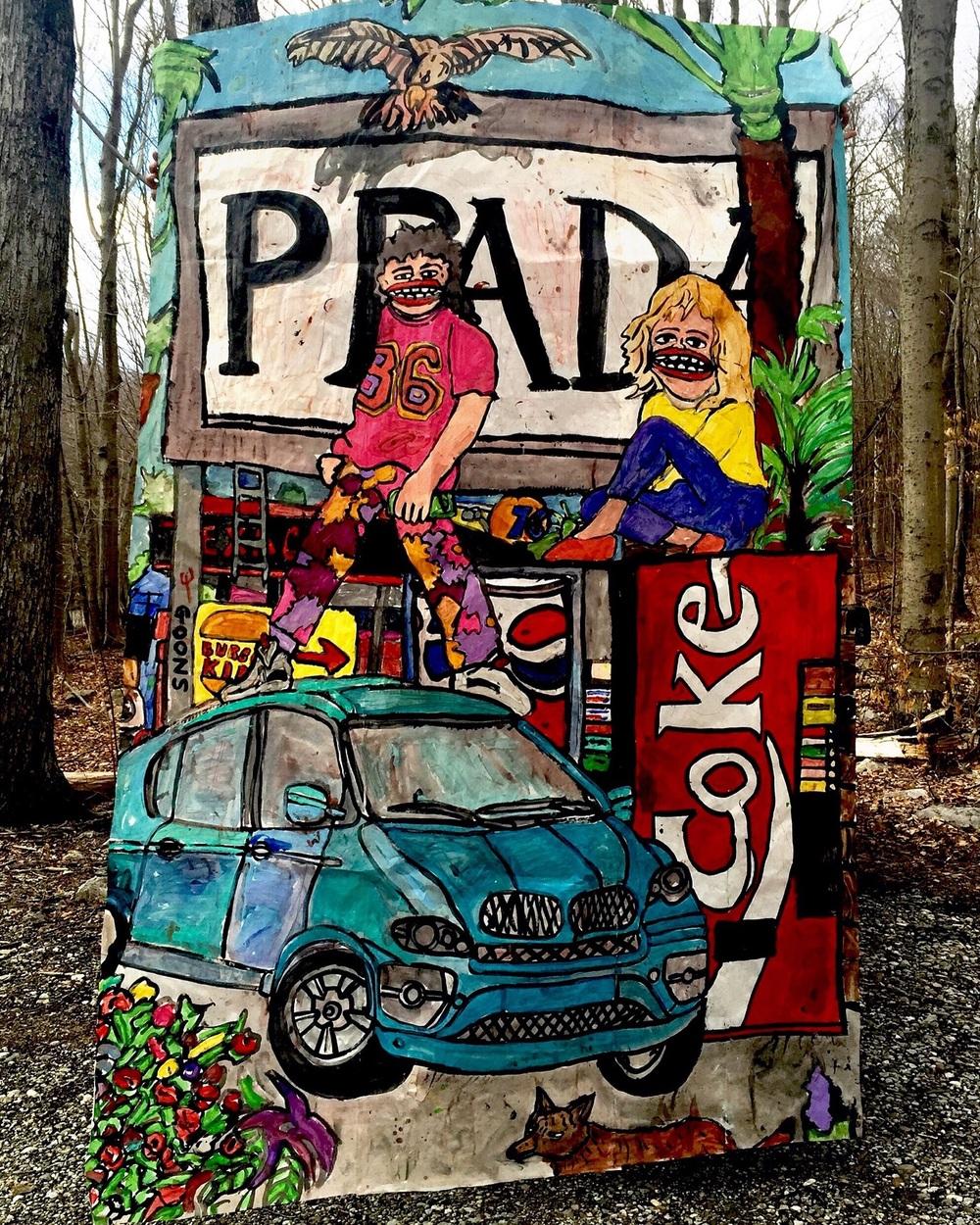 'Prada' $100,000. Sold.