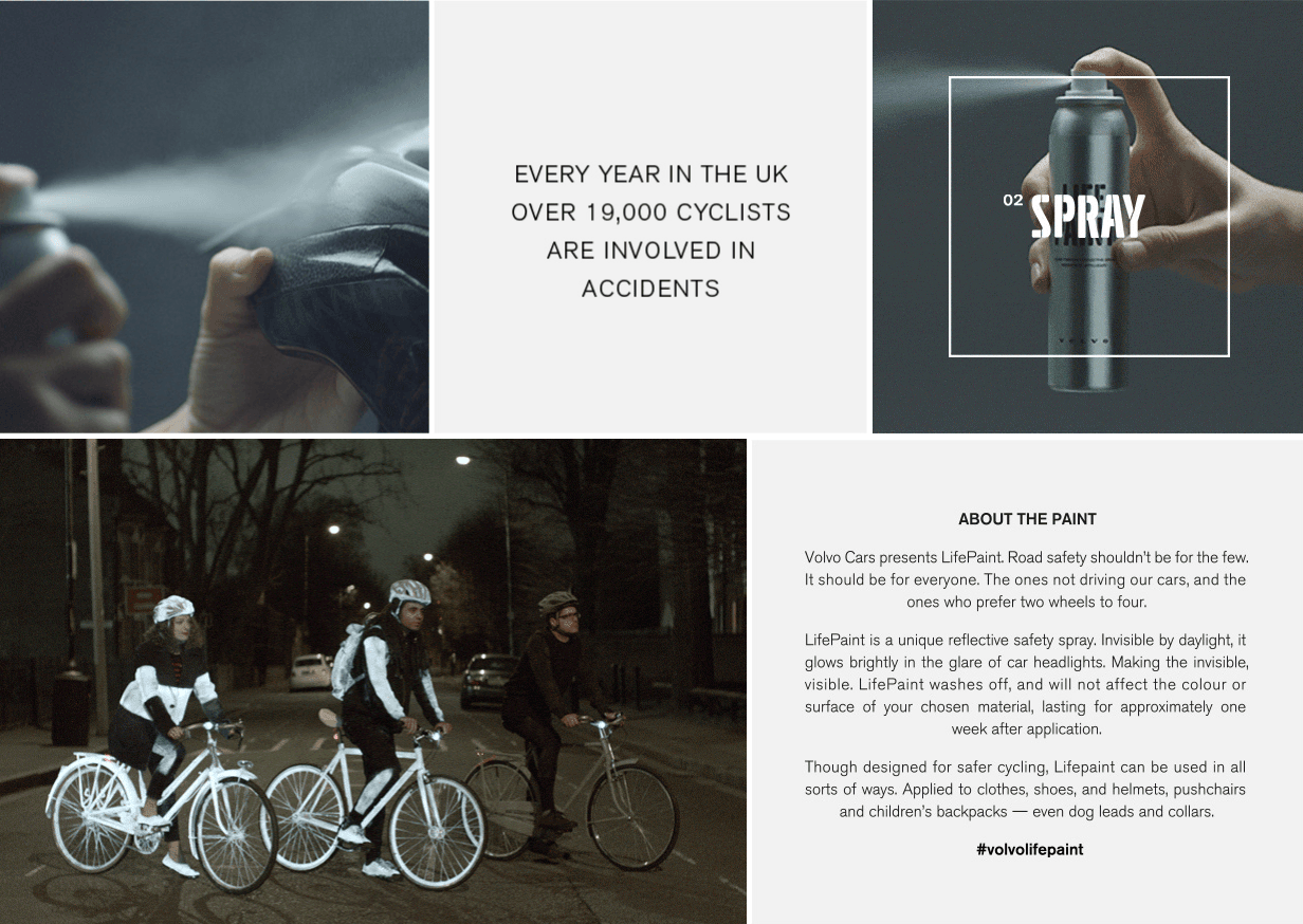 Car colour affects road safety - Volvo Paint Helping Cyclists To Stand Out At Night
