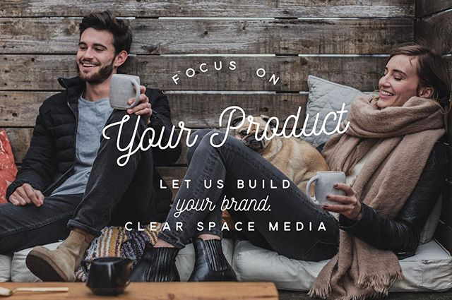Focus on your product let us build your brand clearspacemedia.com - - - #smallbusiness #startups #sales #entrepreneurs #ecommerce #marketing #branding
