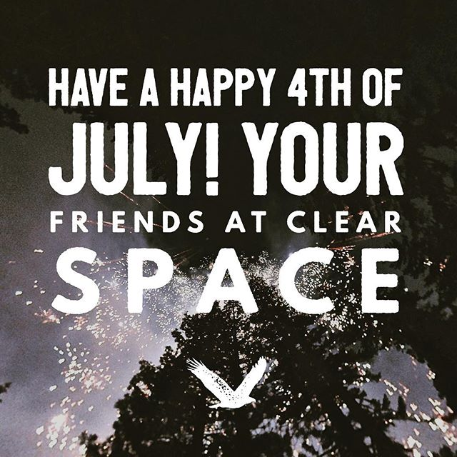 Have a happy 4th of July! Your friends at Clear Space. https://clearspace.media - - - #smallbusiness #startups #sales #entrepreneurs #ecommerce #marketing #branding