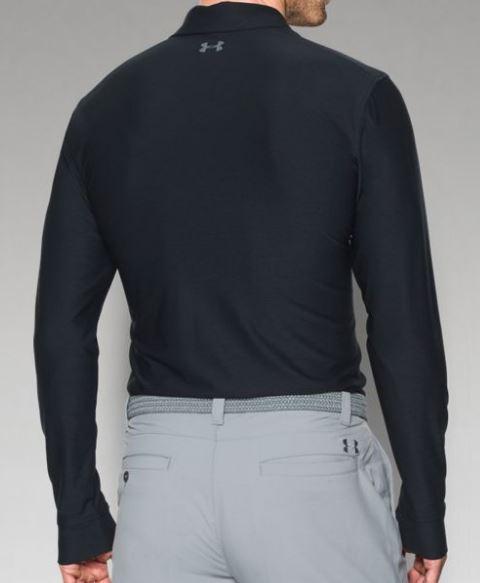 0c36b7760e2 Under Armour Men s Tech Long Sleeve Polo - Black - Highlander Logo — Deep  South Lacrosse