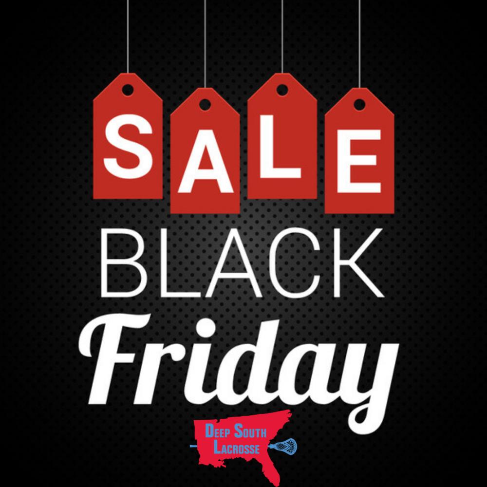 Black Friday Sales >> Black Friday Sales Deep South Lacrosse