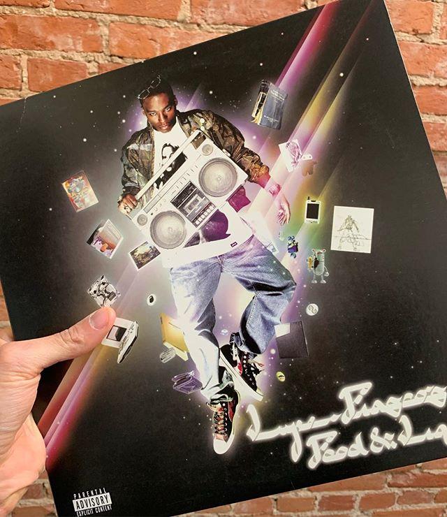 Kick, push...kick, push... #lupe #foodandliquor #debutalbum #vinylhoarder  #straysolo #findthecool