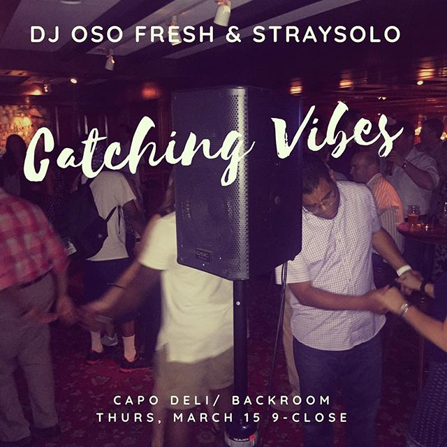 Thursday night at @capobackroom #catchingvibesdc #madvibes #osofresh #honcho #tyone #squadgoals #straysolo #findyourvibe