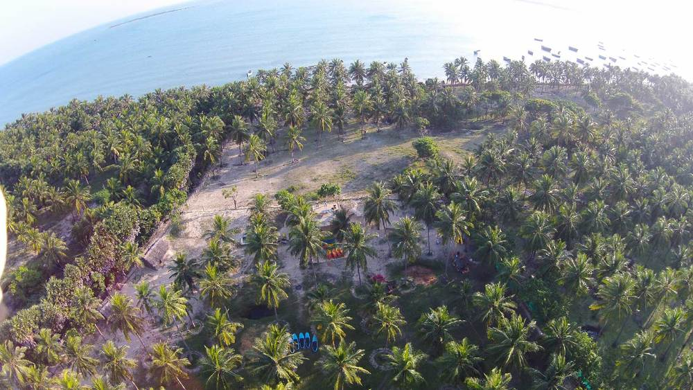 Accommodation on Pamban Island in Rameshwaram, Tamil Nadu