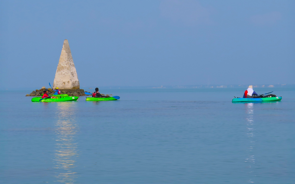 Kayaking trips in the Gulf of Mannar | Rameshwaram Island