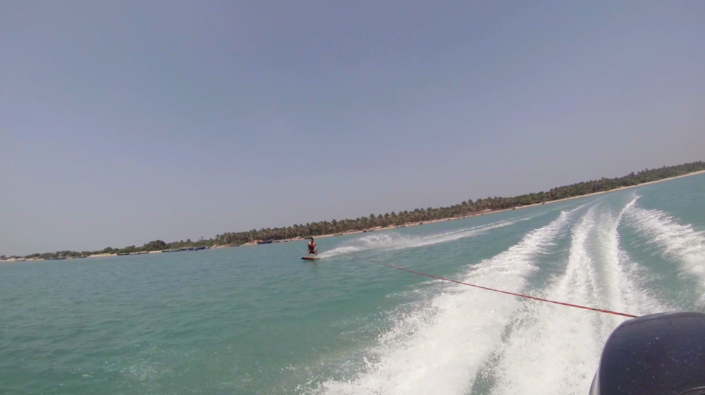 Wake boarding Lessons in India | Rameshwaram | Tamil Nadu